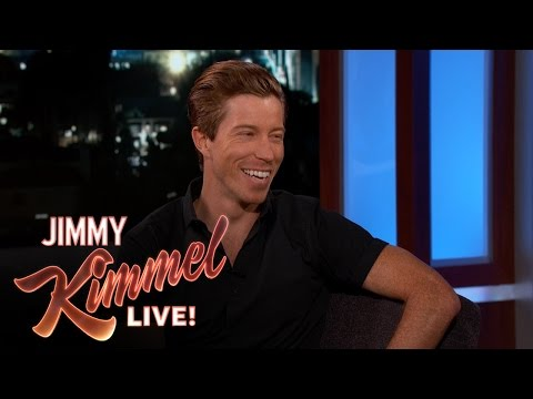 Shaun White on Having Same Heart Condition as Jimmy Kimmel's Baby (видео)