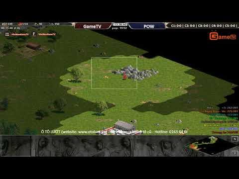 AOE | 4v4 Random GameTV vs Liên Quân Pow ngày 14 9 2017.BLV:G Ver