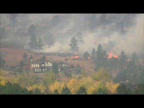 Κολοράντο: Μαίνεται η φωτιά που ξέσπασε πριν από δύο μήνες…