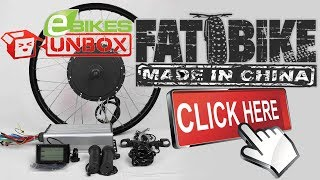 """This is the unboxing video of the FAT eBike Rear Hub KitThis Kit has the LCD and will fit 4"""" tiresEverything I need is now here and I can finally complete the install and move to testing this FAT eBike on the road......."""