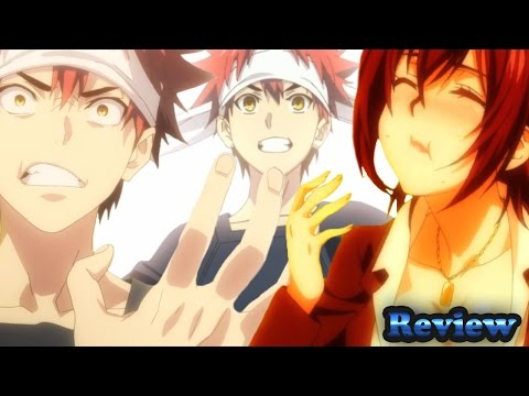Food Wars Shokugeki No Soma Episode 1 食戟のソーマ Anime Review - Iron Chef The Anime
