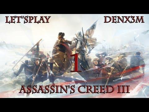 #107 Assassin's Creed III (Пролог) Прохождение от DenX3m