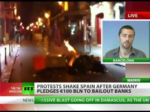 Shaking Spain: 'Take away people's food & homes - expect violence'
