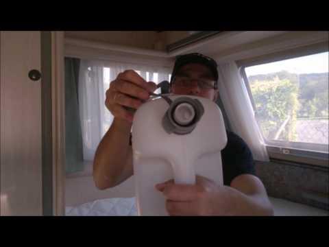 Neuer Wasserkanister | Wohnwagen