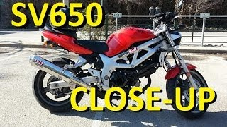 1. 2000 Suzuki SV650 Walkaround Review - First Generation