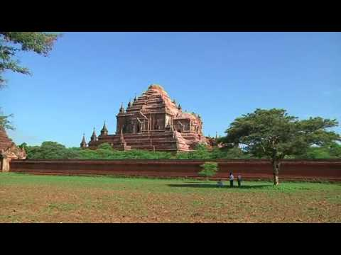 Myanmar quake damages ancient temples