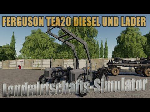Ferguson Tea20 diesel and loader v1.0