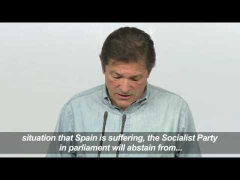 Социалистите в Испания гласуваха за прекратяване на политическата безизходица