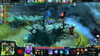 NewBee vs Alliance, game 2