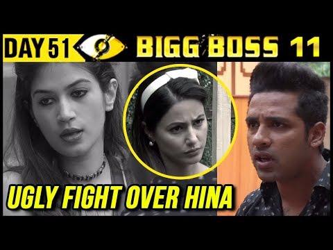 Bandgi & Puneesh UGLY FIGHT Over Hina Khan   Bigg