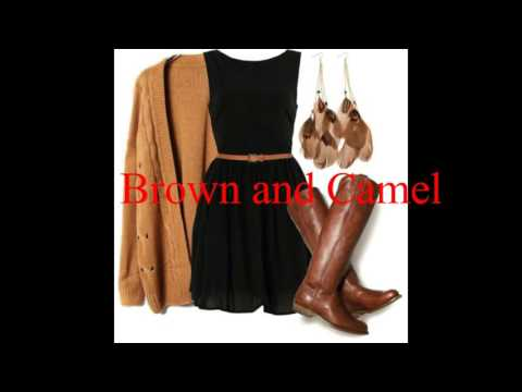 7 Colours that matches with brown ll FashioNet