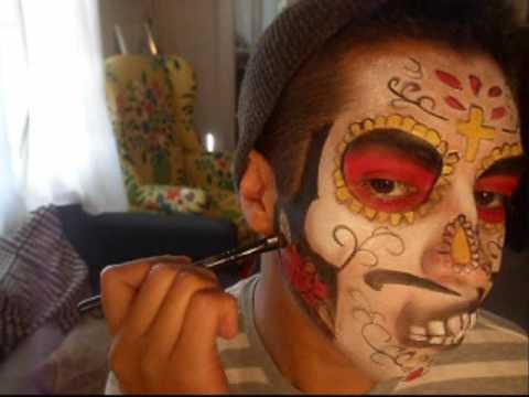 Dia de Los Muertos (color sugar skull)