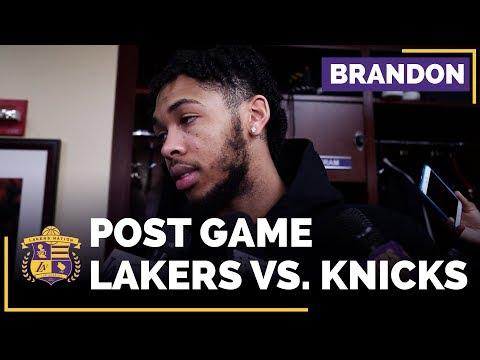Video: Brandon Ingram After Returning To Lakers Lineup