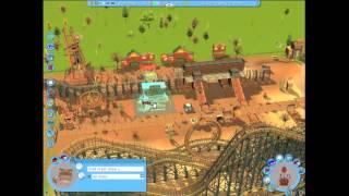 RCT3 Building A Park Timelapse Ep2