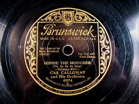 Video MINNIE THE MOOCHER by Cab Calloway and his Orchestra 1931 download in MP3, 3GP, MP4, WEBM, AVI, FLV January 2017