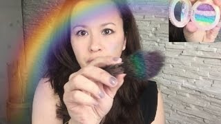 Diy Highlighter Rainbow Arc en ciel [Illuminateur make-up de l'été 2016] - YouTube