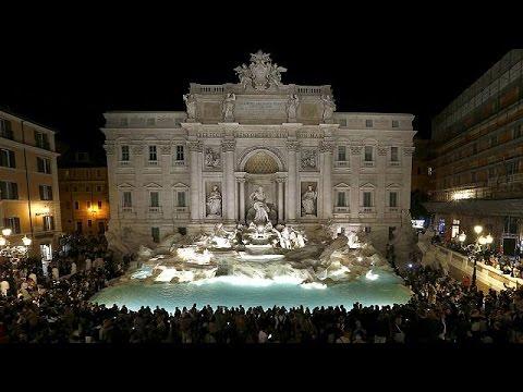 Ιταλία: Η Φοντάνα ντι Τρέβι μετά το… «λίφτινγκ»