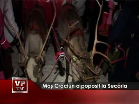 Moş Crăciun a poposit la Secăria
