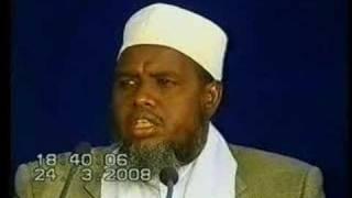 Sh.maxamed Umal Asbaabah Burburka Somaliya
