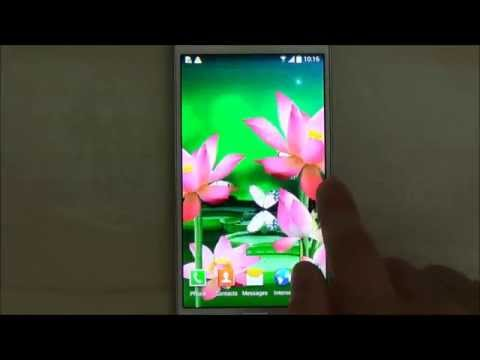 Video of Lotus Live Wallpaper