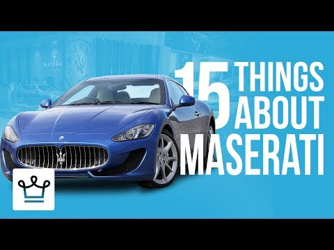 15 Things You Didn T Know About Maserati (8.10 MB) - WALLPAPER