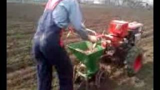 Посадка картошки Булбоакаа