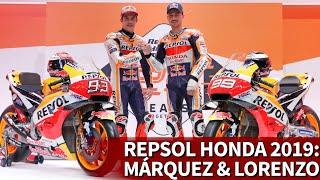 Video Repsol Honda presentó a Marc Márquez y a Jorge Lorenzo de cara a 2019 | Diario AS MP3, 3GP, MP4, WEBM, AVI, FLV Juni 2019