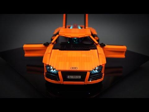 Audi R8 V10 引擎太嚇人了吧