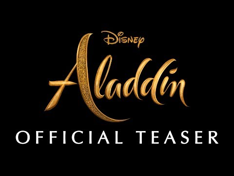 The First Trailer for Disney s LiveAction Aladdin