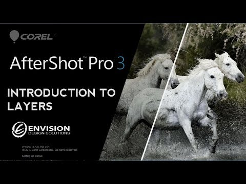 Corel Aftershot Pro |  Intro to Layers