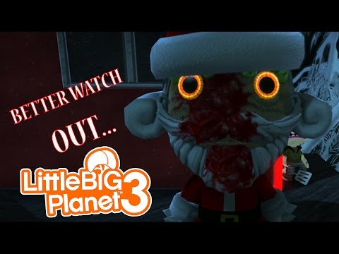 Video Little Big Planet 3 Multiplayer: CHRISTMAS EVE HORROR download in MP3, 3GP, MP4, WEBM, AVI, FLV January 2017