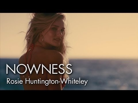 Rosie Huntington Whiteley - http://www.nowness.com/day/2013/8/29/3288/rosie-huntington-whiteley--manifestation Gallic Passion, American Charm and the British Supermodel Star in a Sun-Ki...