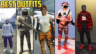 GTA Online: FASHION FRIDAY! 34 NEW OUTFITS! (Asiimov, Grey Tactical, Baller & MORE)