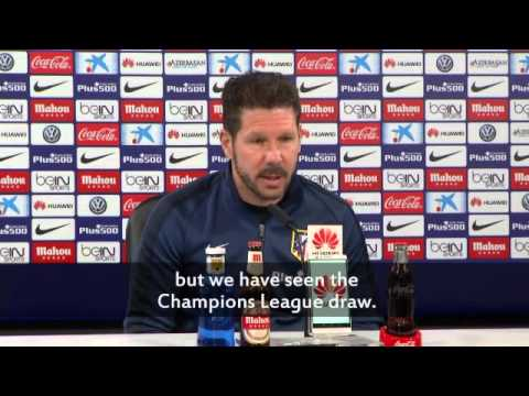 Barca vs Atletico UCL: There's no one better to play than Barca - Simeone