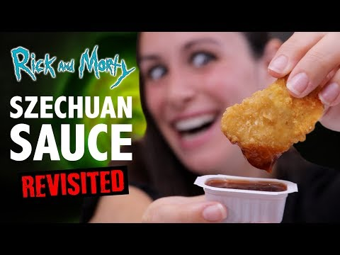 RICK AND MORTY SZECHUAN SAUCE VS HOMEMADE