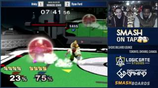 Smash on Tap #91 Melee • Streamed by LGS https://lgs.gg/ • Live on www.twitch.tv/logicgatestudios • May 16th, 2017 Pledge to LGS to support Ontario Smash htt...