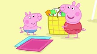 Peppa Pig português - Cartoon Kids - Português Brasil- Compilation 35 Peppa Pig