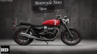 1. HOT NEWS  !!! 2018 Triumph Street Twin Engine Overview  Price and Specs