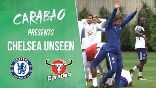 Download Video Conte Shows He's Still Got It, Courtois' Cheeky Lob & More | Chelsea Unseen MP3 3GP MP4