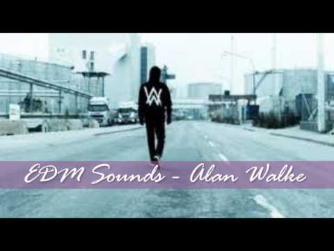 EDM Sounds Alan Walker. Best ADM 2016.