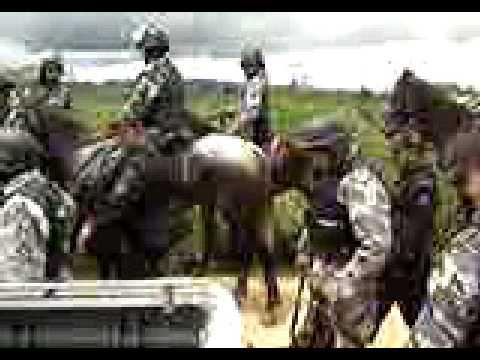 Ação policial na região de Carajás, em Parauapebas, sudeste paraense, em 2008. Parte II