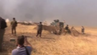 Iraqi special forces join battle for Mosul, U.S. soldier dies