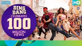 "Thank You for your 100+ Million Views on Ding Dang: http://bit.ly/100MillionViewsAndCountingYou can download the Munna Michael game here: https://play.google.com/store/apps/details?id=com.erosnow.MunnaMichaelListen to all the Songs from Munna Michael out here: http://bit.ly/MunnaMichaelAllSongsShake your legs to the most energetic song of the year ""Ding Dang"" from the movie ""Munna Michael"".Song: Ding DangSinger: Amit Mishra & Antara MitraMusic: Javed - MohsinLyrics: Danish Sabri & Sabbir KhanRap by: Parry G, Shivi & Danish SabriSong Programmed & Mixed: Aditya DevSong Mastered: Eric Pillai(Future Sound of Bombay)For caller tunes dial:Airtel - 5432116273397Vodafone - 5379599516Idea - 567899599516BSNL (South/East) - 5679599516BSNL (North/West) - 5676697649Aircel - 530006697649Movie: Munna MichaelCast: Tiger Shroff, Nawazuddin Siddiqui & Nidhhi AgerwalDirected By: Sabbir KhanProduced By: Eros International & Viki RajaniTo watch more log on to http://www.erosnow.comFor all the updates on our movies and more:https://www.youtube.com/ErosNowhttps://twitter.com/#!/ErosNowhttps://www.facebook.com/ErosNowhttps://www.facebook.com/erosmusicindiahttps://plus.google.com/+erosentertainmenthttp://www.dailymotion.com/ErosNowhttps://vine.co/ErosNow http://blog.erosnow.com"