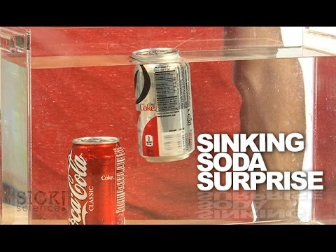 Sinking Soda Surprise - Sick Science! #174 (видео)