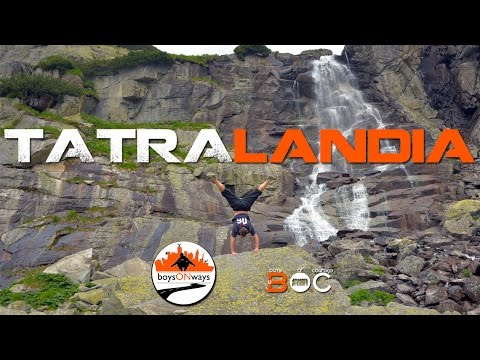 VIDEO: BoysOnWays - akrobacia pri vode, aj na tatranských chodníkoch