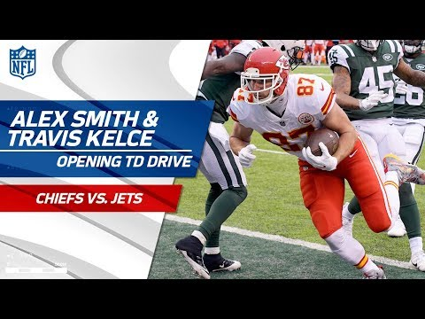 Video: Alex Smith & Travis Kelce's Opening Drive TD to Take the Early Lead! | Chiefs vs. Jets | NFL Wk 13