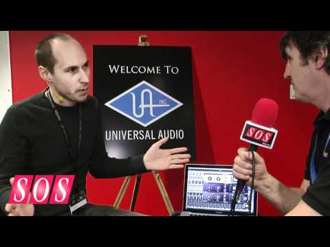 Musikmesse 2012: Universal Audio 1176 Limiter Collection