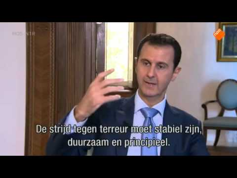 Bashar al-Assad interview on Dutch TV show Nieuwsuur (17-12-2015)