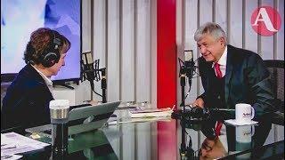 AMLO con Carmen Aristegui