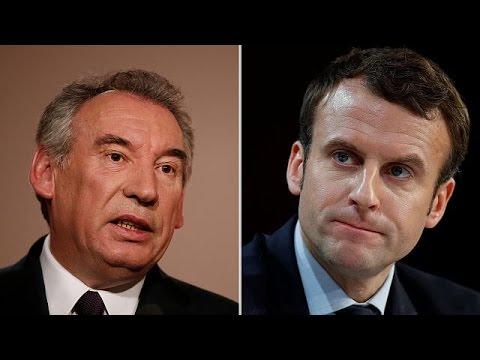 Συμμαχία Μακρόν-Μπαϊρού στη μάχη για την γαλλική Προεδρία